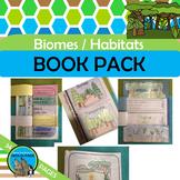 BIOMES Flip Books  {Desert Rainforest Forest Tundra Grassland Ocean Wetland}