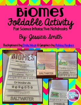 Biomes Interactive Notebook Activity