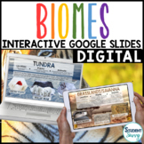 Biomes Google Classroom Distance Learning | Interactive Digital