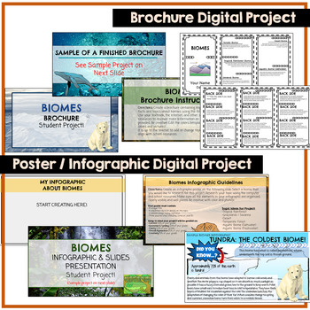 Biomes Google Classroom Student Projects