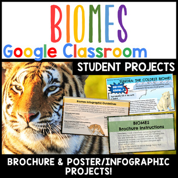 Biomes Projects Google Classroom