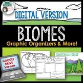 Biomes Graphic Organizers - Digital / Google Edition