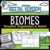 Digital Biome Graphic Organizers, Climate Graph and More!