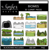 Biomes Clipart {A Hughes Design}