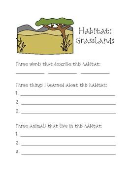 Biomes / Habitat Notebooking