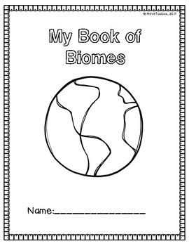 Biomes/Habitats- A Color, Draw, and Write Inquiry Packet