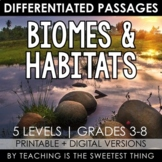 Biomes & Habitats: Passages - Distance Learning Compatible