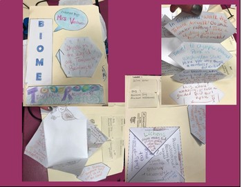 Biomes Interactive LapBook-Middle School ESOL/SWD