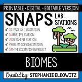 Biomes Lab Stations Activity