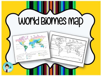 Biome Map Worksheets & Teaching Resources | Teachers Pay ...
