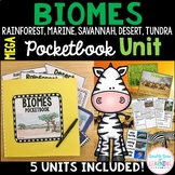 Biomes Research Mega Bundle Pocketbook Unit