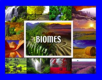 Biomes Notes Bundle