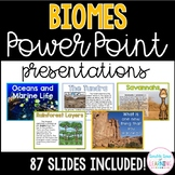 Biomes PowerPoint Presentations for K-1 and special education