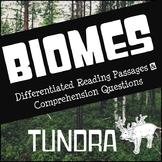 Biomes Reading Comprehension - Tundra