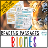 Biomes Reading Passages - Questions - Annotations