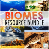 Biomes Activities Resource Bundle | Distance Learning