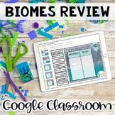 Biomes Activity - Google Classroom Edition
