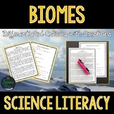 Biomes  - Science Literacy Article
