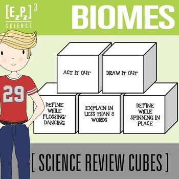 Biomes Science Cubes