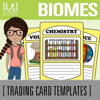 Biomes Science Trading Cards