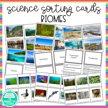 Biomes: Sorting Cards