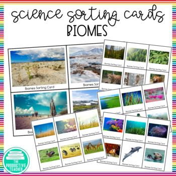 Biomes: Sorting Cards