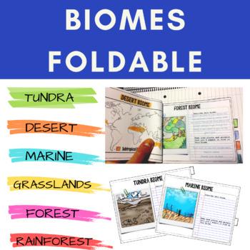 Biomes Tabbed Foldable