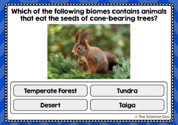 Biomes Task Cards - Digital Boom Cards™
