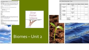 Biomes - Unit 2 Bundled