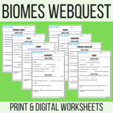 Biomes Webquest