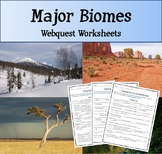Biomes Webquest Research Assignment