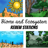 Biomes and Ecosystems Review Stations (NC 5th Grade Science EOG)