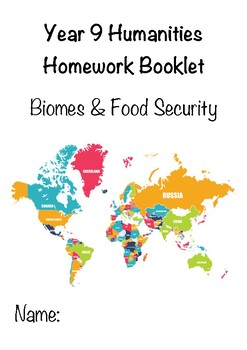 Biomes and Food Security