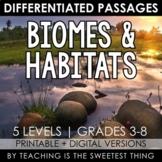 Biomes & Habitats: Passages