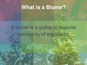 Biomes and Habitats eBook