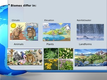 Biomes and Landforms