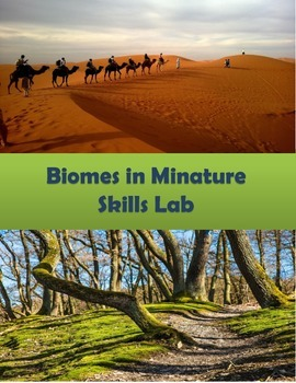 Biomes in Miniature Skills Lab with Worksheet and Answer Key