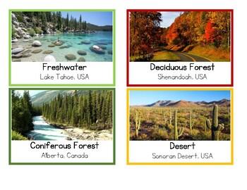 Biomes of North America by MontessoriMakerVA | Teachers ...