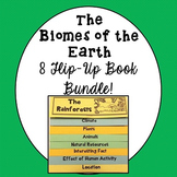 Biomes of the Earth Flip Up Books Bundle