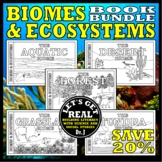Biomes of the World: ACTIVITY BOOK BUNDLE
