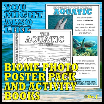 Biomes of the World: ACTIVITY PACK