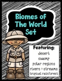 Biomes of the World Set - Bundle