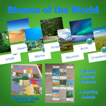 Biomes of the World ID cards