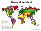 Biomes of the World Maps