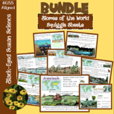 Biomes of the World Squiggle Sheets Bundle
