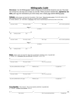 Biomes on Earth Research Project Packet