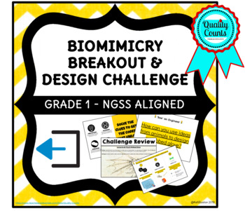 Biomimicry BREAKOUT and Design Challenge is an NGSS Aligned Grade 1