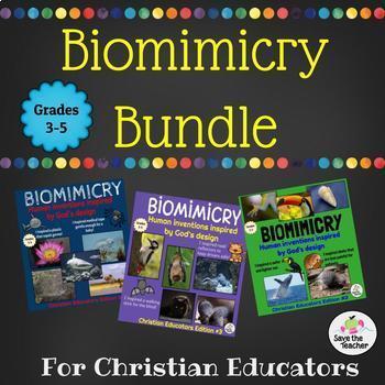 Biomimicry: Christian Educators Bundle