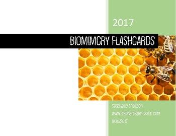 Biomimicry Flashards