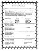 Biomimicry Worksheet